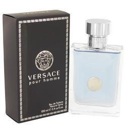 Versace Pour Homme by Versace Eau De Toilette Spray 3.4 oz (Men)