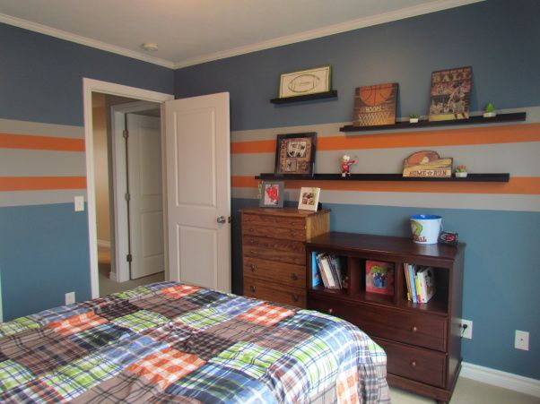 24 best images about boys room on pinterest stripes for Boys bedroom paint ideas stripes
