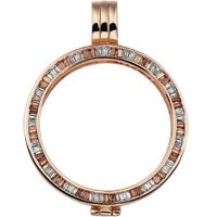 Mi Moneda Grace Rose Gold Plated Coin Holder. For more details see: http://bannonjewellers.ie/index.php?route=product/product&path=365000&product_id=6020837