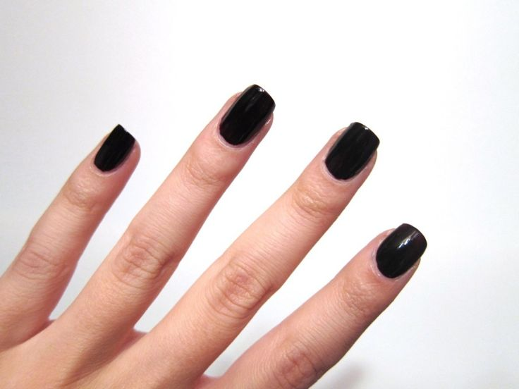 250 best nail art images on pinterest couture decorations and full nail black color prinsesfo Gallery