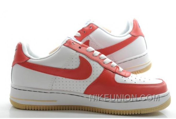 http://www.nikeunion.com/nike-air-force-1-low-red-white-brown-online.html NIKE AIR FORCE 1 LOW RED WHITE BROWN ONLINE Only $58.57 , Free Shipping!