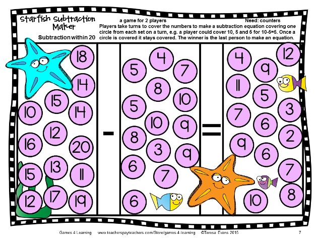 Finally I have finished updating my Addition Board Games and Subtraction Board Games. I love a good makeover and you will too when you see t...