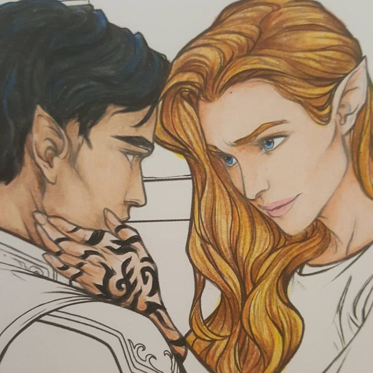 ACOMAF.. Honored.. Honored to be your mate.