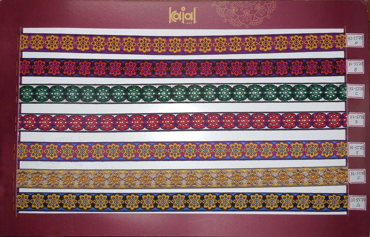 Designer saree border laces