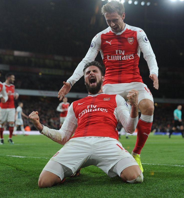 Giroud - Arsenal v West Brom (1-0)
