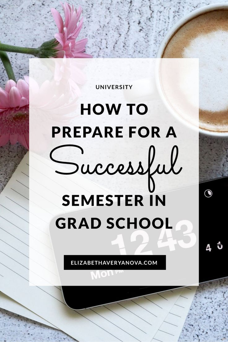 How To Put together For A Profitable Semester in Graduate Faculty