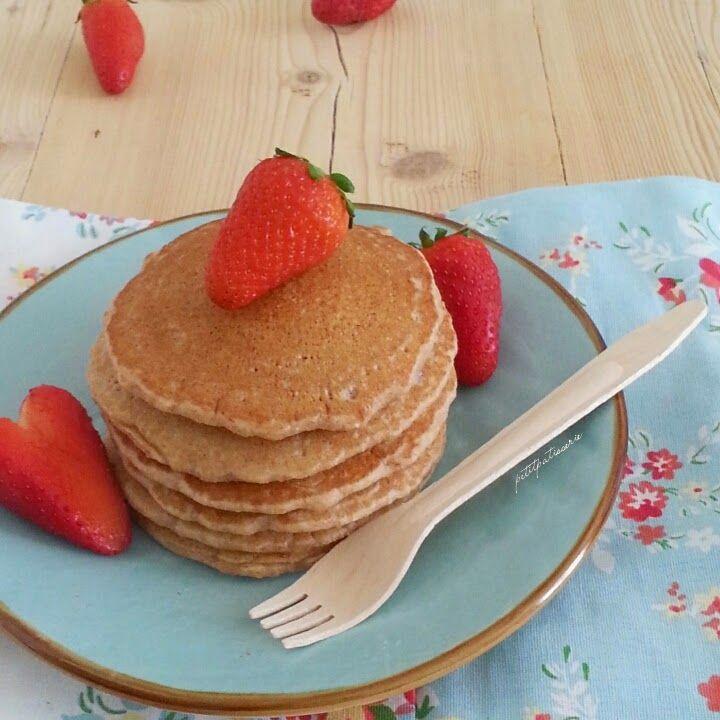 Pancake light [ integrali e vegani ]