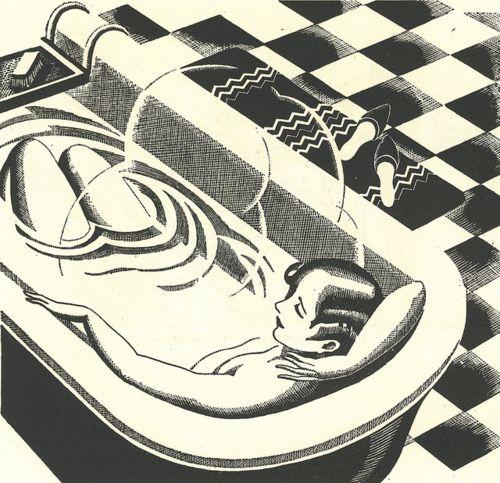 Charles W. Hobson woodcut
