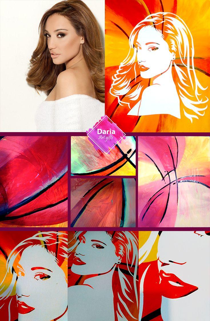 43 best darias creative pop art portraits and gifts images on pinterest diy gift diy project diy painting diy diy wall decorself pop art portraits solutioingenieria Choice Image