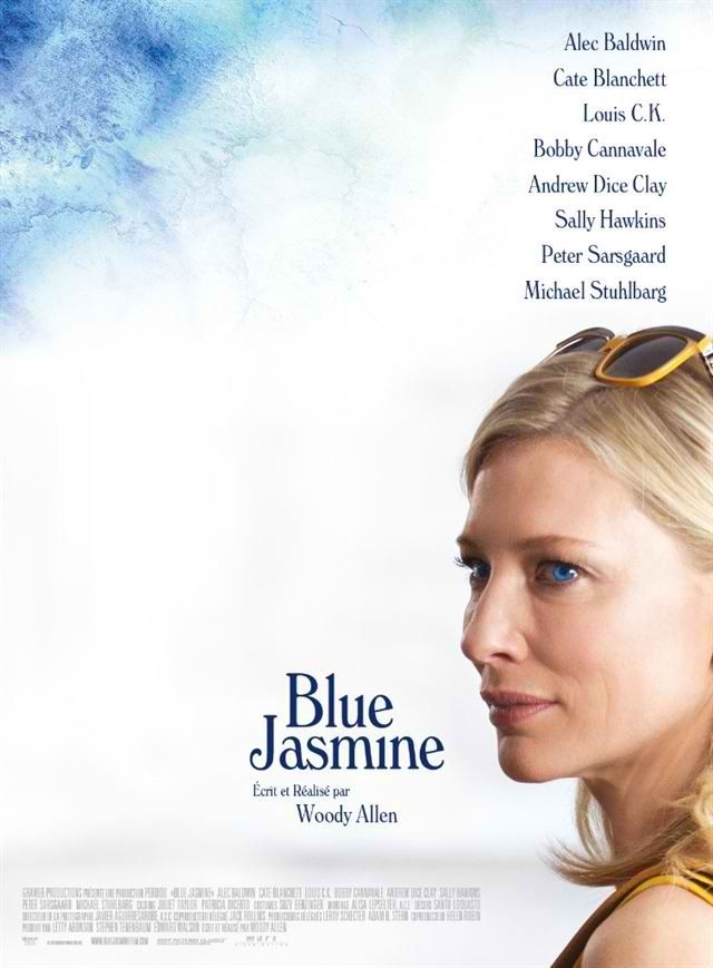 Woody Allens summer film, Blue Jasmine - Cate is superb. I love how W. A. show to people the superficial sociality group. Perfect.