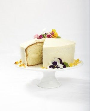 Lemon Mousse Cake - sounds delish