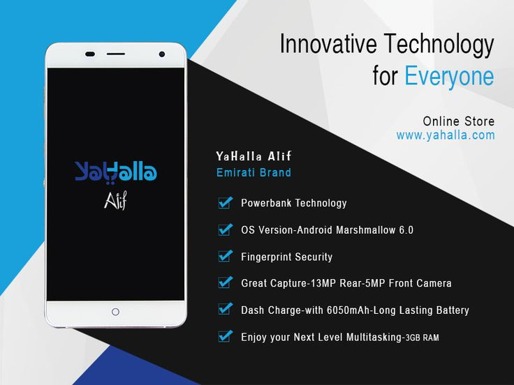 Need a smartphone with a long lasting battery? Here's the YaHalla Alif with 6050mAh Battery #yahalla #alif #smartphone #longlasting #batttery #brand Buy Now ▶ http://www.yahalla.com/