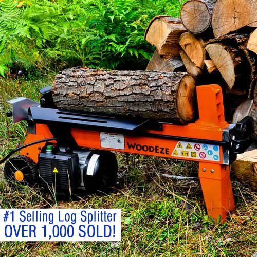 WoodEze 4-Ton Electric Log Splitter | Split Firewood Up To 12″ Diameter and 20″ Long With Ease  http://www.handtoolskit.com/woodeze-4-ton-electric-log-splitter-split-firewood-up-to-12-diameter-and-20-long-with-ease/
