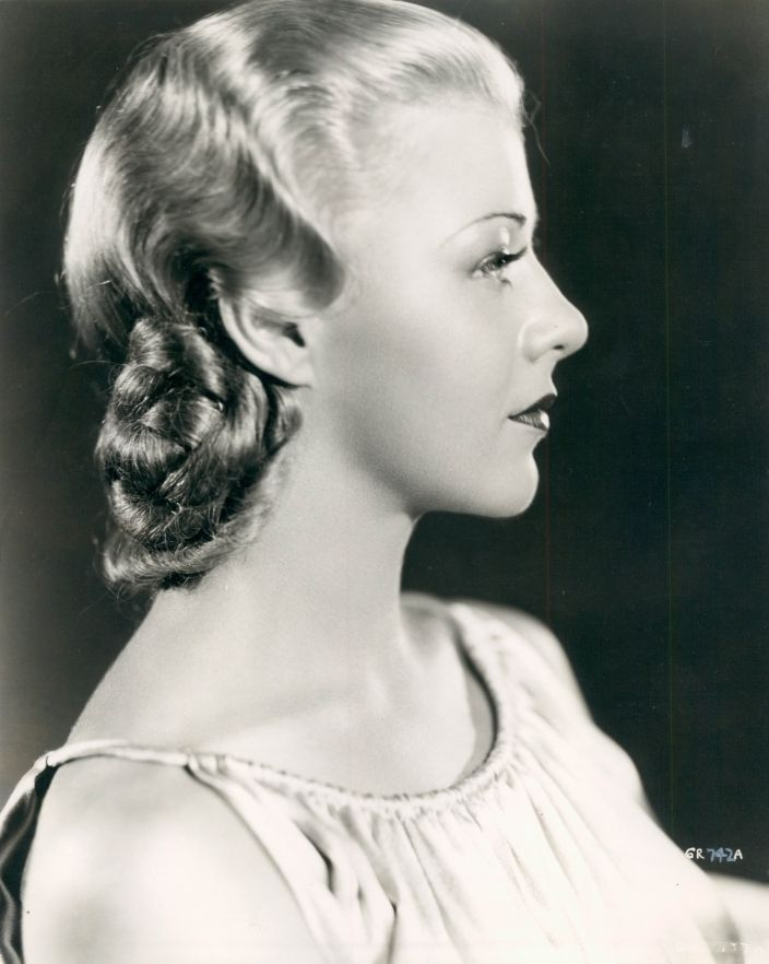 Ginger Rogers, 1935 ..playing dress up..I always was Ginger..loved her dancing.