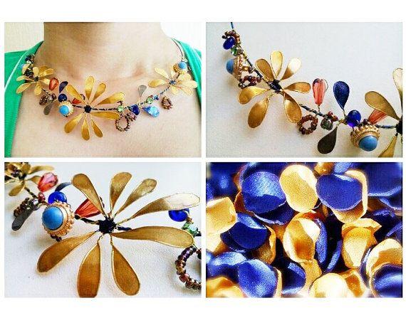 Necklace with nail polish / Etsy