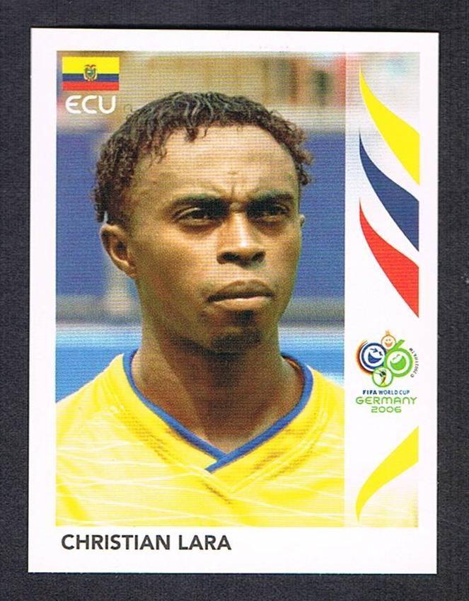 83 Christian Lara Panini Germany 2006 World Cup Sticker Match Attax Football Cards Adrenalyn Xl