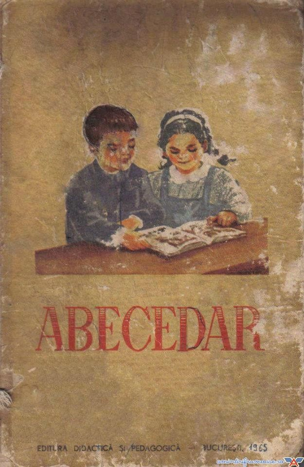 Abecedar 1965, still used in early seventies