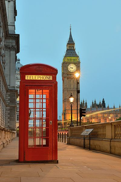 Red Telephone Box and Big Ben in London | Flickr - Fotosharing!