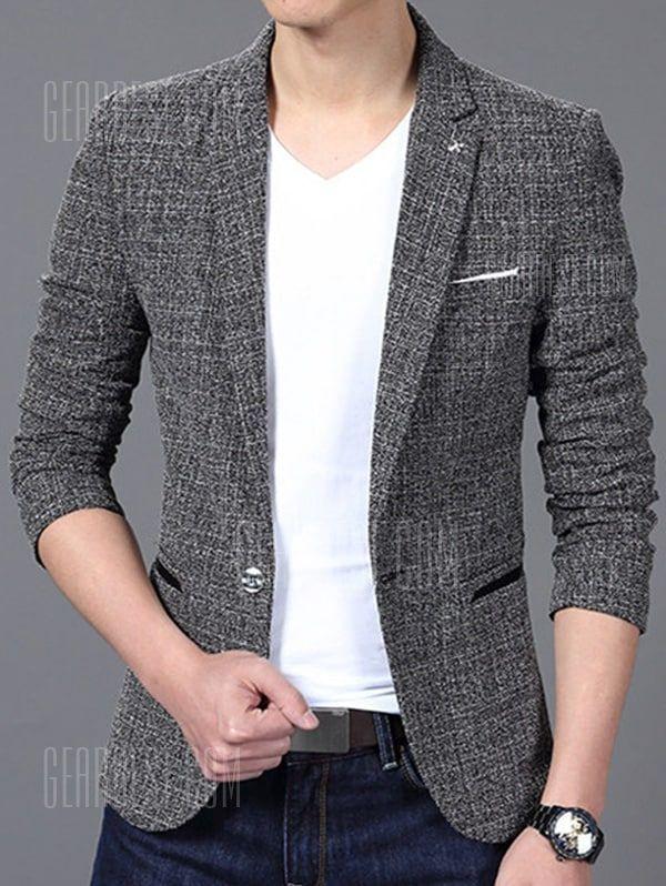 f0b74f909 Men s Stylish Slim Fit Jacket Suit