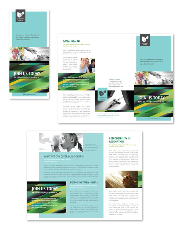 753 best Creative Brochure Templates images on Pinterest - microsoft word tri fold brochure template