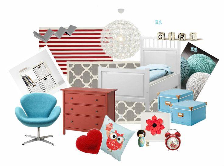 Mood board - Girl´s Bedroom