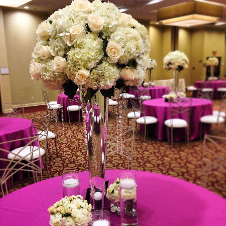 62 best columbus wedding centerpieces images on pinterest diy ball centerpiece at the crown plaza hotel columbus ohio junglespirit Gallery