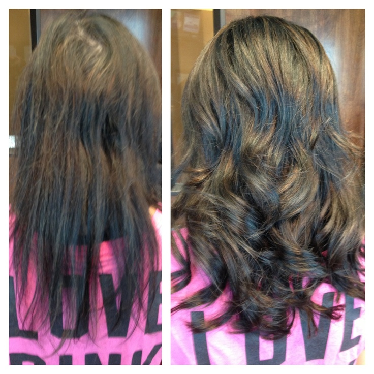how to put in klix hair extensions