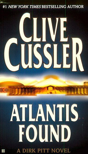 list of all clive cussler books