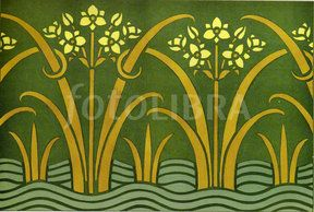 Images like 'Art Nouveau Verneuil stencil pattern' (Showing 1 ...