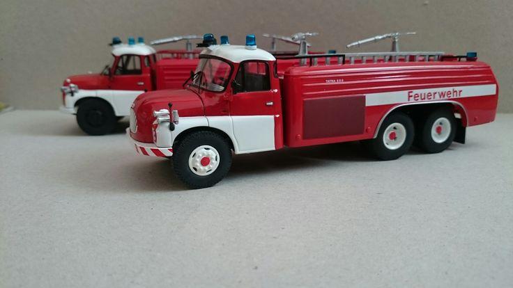 Tatra 148 CAS 32 & Tatra 138 CAS 32