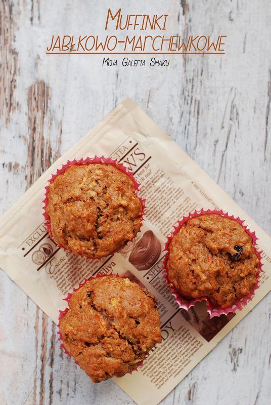Muffinki jabłkowo-marchewkowe