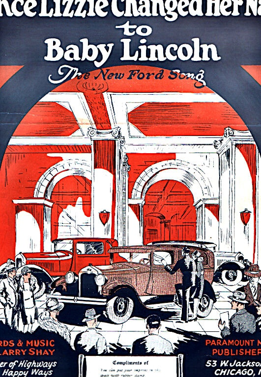 Ford Lincoln Sheet Old Advertising Pinterest Ford