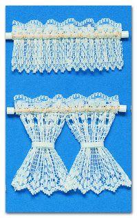 dollhouse lace curtains