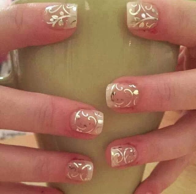 Perfect for a bride... Are you getting married or know someone that is? Head on over to my Facebook page to learn all about Jamberry nail wraps. Http://www.facebook.com/juliepjams