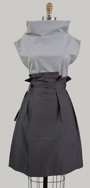 columnar tunic & wrapped skirt | Flickr – Condivisione di foto!
