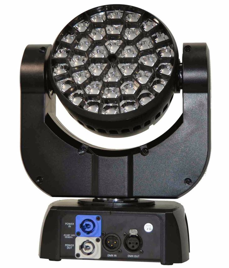 TRR-M336  TRITON  CABEZA MOVIL RGB 3 LED 36W 1in1