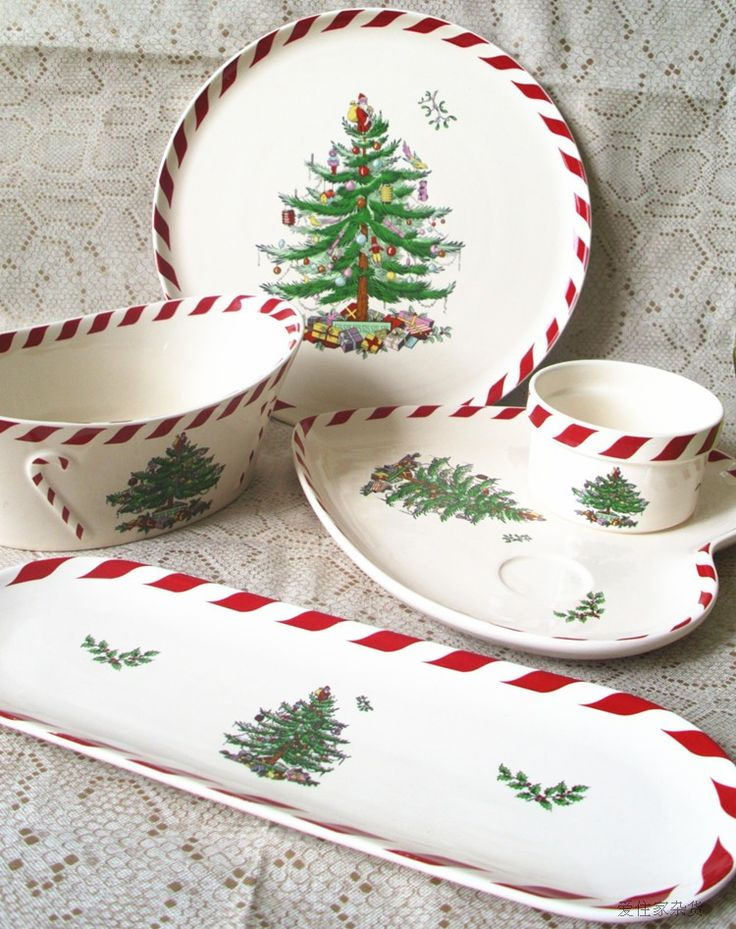 ... Buy Quality decorative family tree directly from China tree ideas Suppliers Spode dinnerware mug-up plate bowl dinnerware set christmas tree decoration & 166 best christmas dishes images on Pinterest | Christmas dishes ...