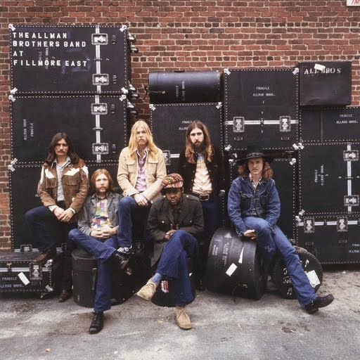 Allman Brothers fillmore color