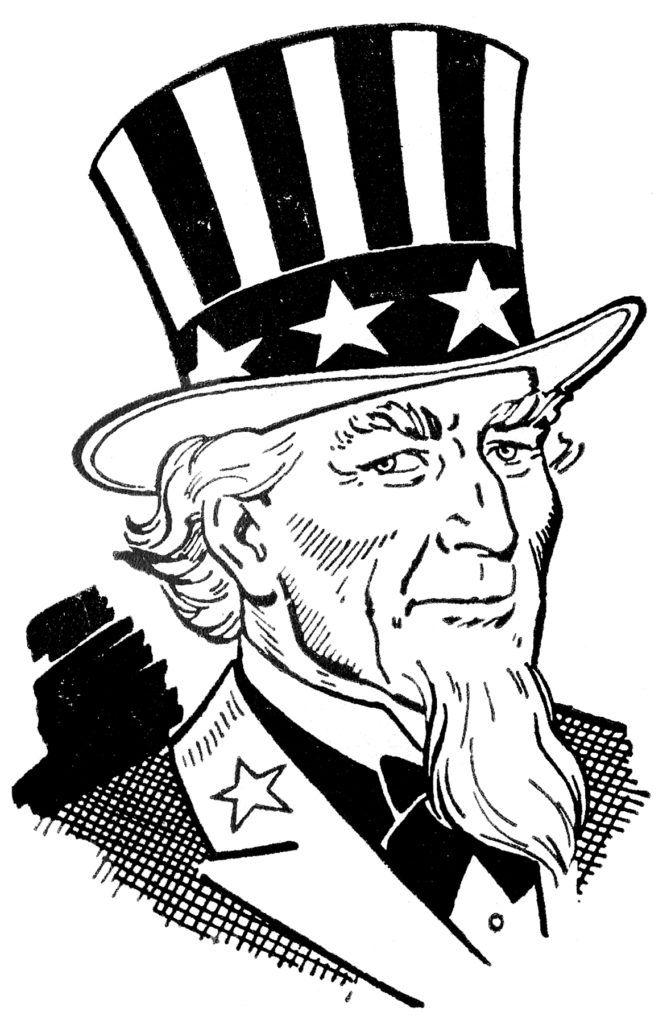 5 Free Uncle Sam Clip Art Patriotic Art Uncle Sam Clip Art