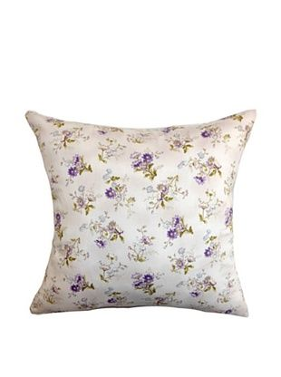 60% OFF The Pillow Collection Leiko Floral Pillow, Purple