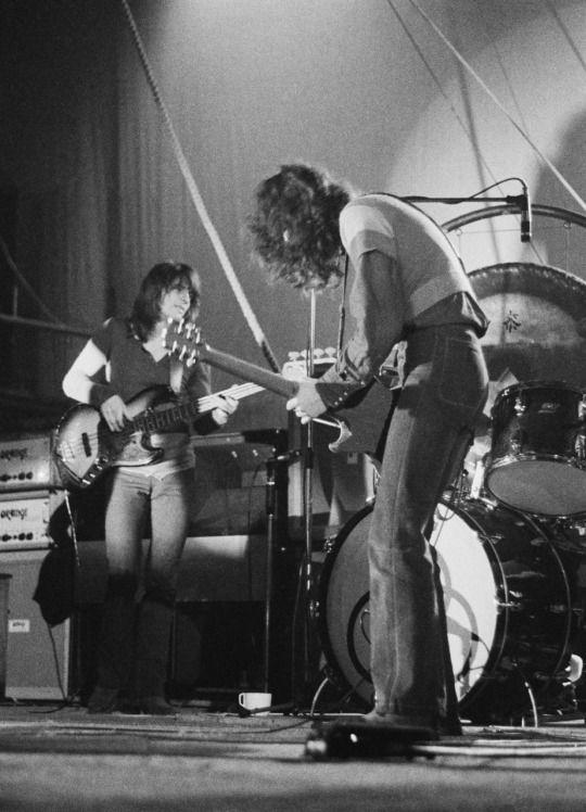Led Zeppelin, 1971. Photo by Michael Putland.