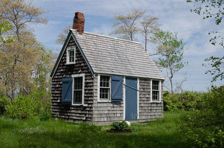 The Doll House on Potato Island, Maine;