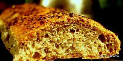 Bagietkowe chlebki z dużą ilością zakwasu