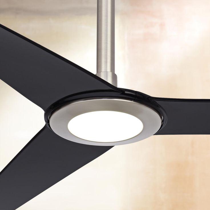 "44"" Casa Vieja Trifecta Brushed Nickel Ceiling Fan - #R5139 | www.lampsplus.com"