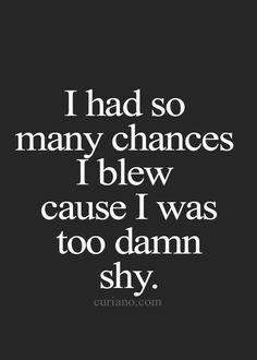 shyness quotes - Google Search