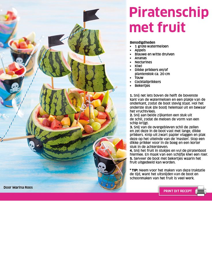 Piratenschip met fruit - Lidl Nederland