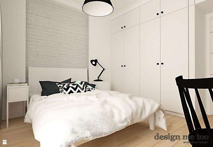 Sypialnia styl Skandynawski - zdjęcie od design me too - Sypialnia - Styl Skandynawski - design me too