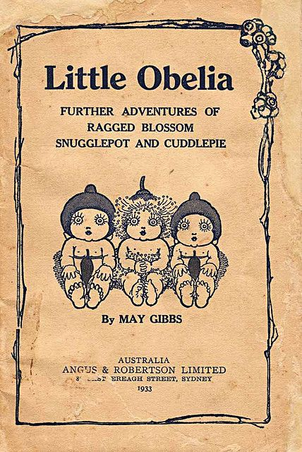 Snugglepot and Cuddlepie - Hordern  1933 - Gumnut Babies by May Gibbs.