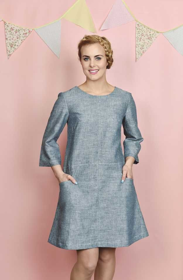 learn how to sew up this beautiful tunic #dressmaking