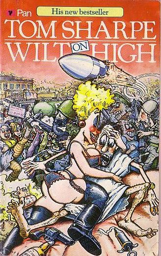 Tom Sharpe WILT ON HIGH Pan 1985 front cover image